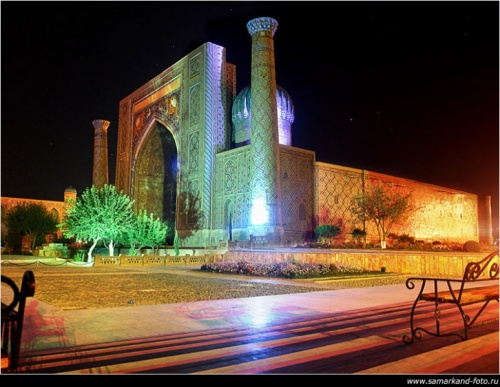 Регистан(медресе Шер-Дор)