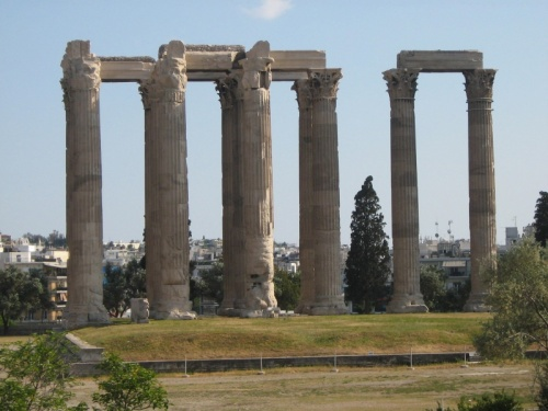 Афины, храм Зевса Олимпийского