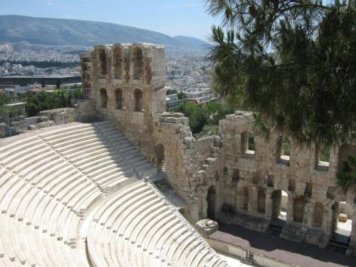 Афины, театр Диониса