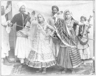 Nautch Dancers