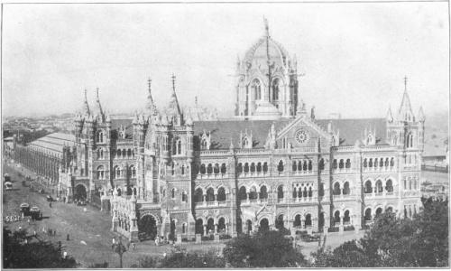 Victoria Railway Station Bombay