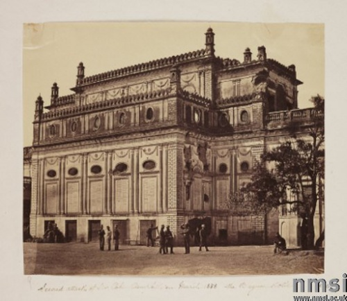 The Begum Kothi, Lucknow 1875