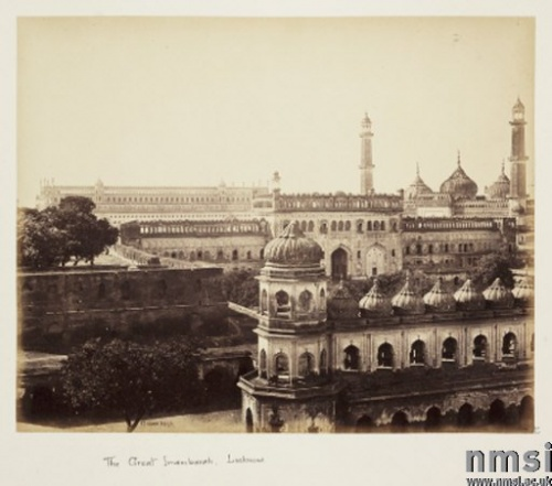 The Great Immambara, Lucknow about 1865