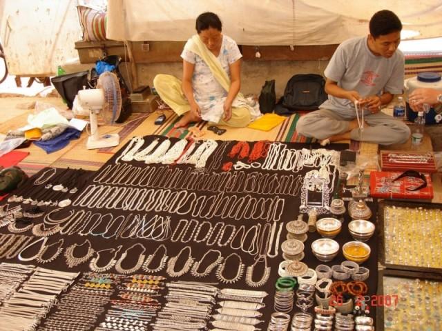 Калангут. Тибетский рынок