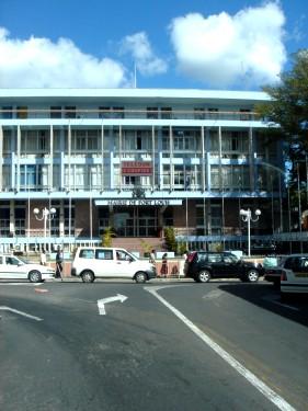Здание мэрии Порт Луи