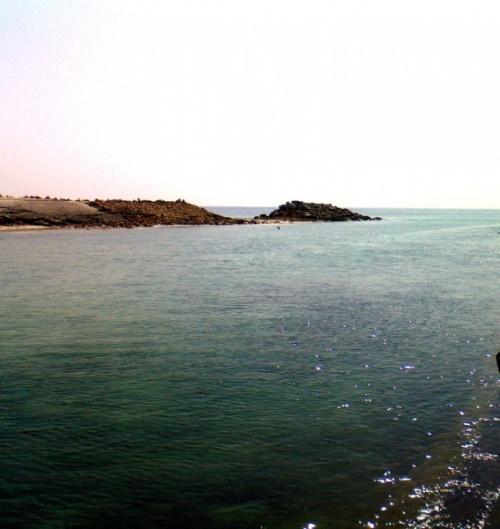 здесь река впадает в океан