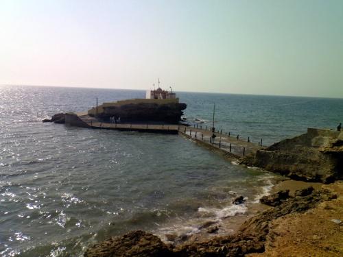 храм в океане