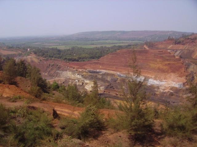 Вид с Sirigao Mines сторону моря
