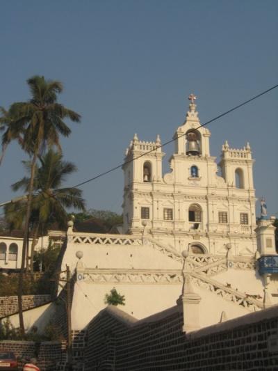 Храм в Панаджи