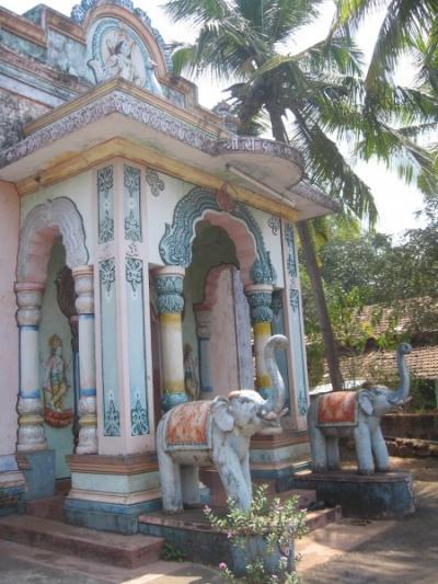 храм где-то в глубине Гоа