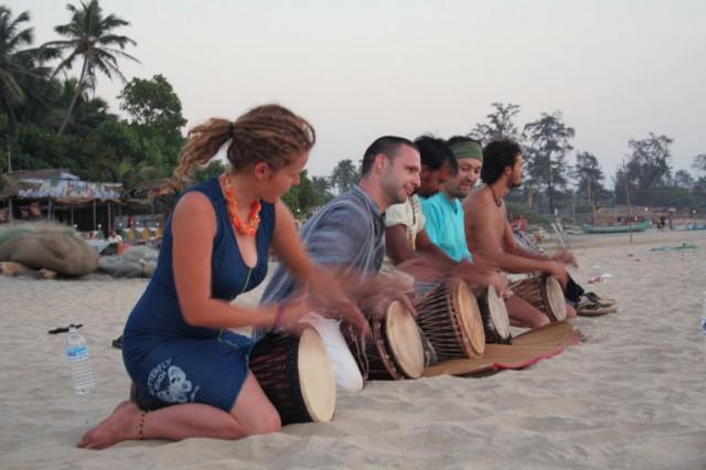 уроки игры на джембе