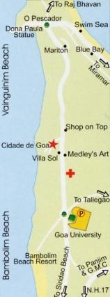 Карты пляжа Дона Паула