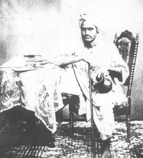 Мусульманин. Бомбей. 1856 год.