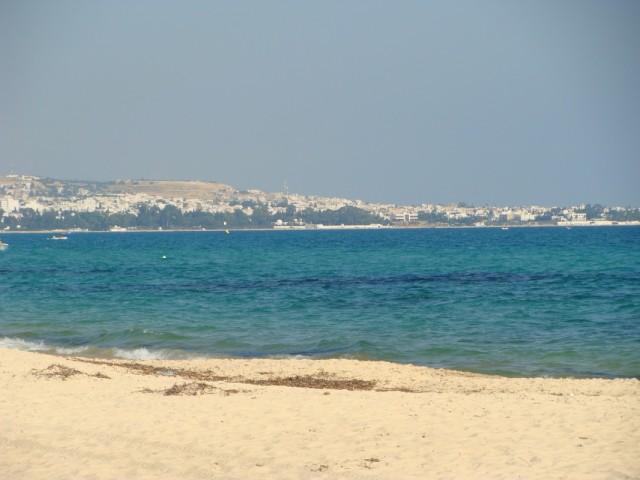 Средиземноморское побережье Туниса.