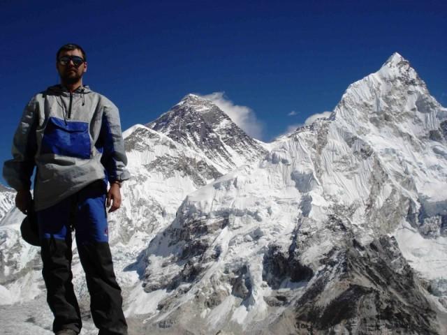 я и Эверест