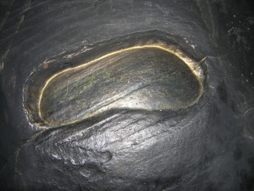 отпечаток стопы Гуру Падмасамбхавы