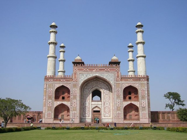 Gate of Akbar's Tomb (Sikandra)