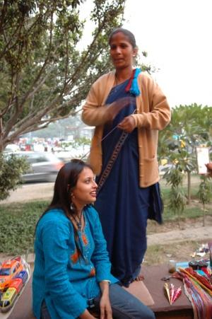 индийские косички
