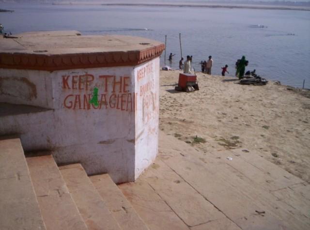 Keep the Ganga clean, keep the Banaras green