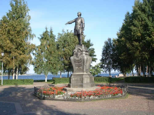 Петр 1-й - основатель Петрозаводска