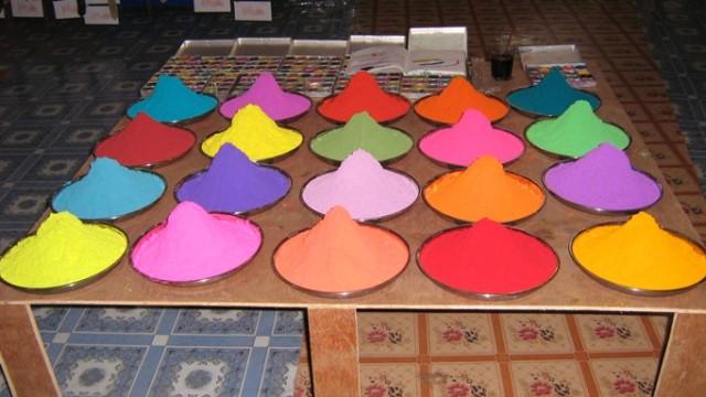 Краски Индии