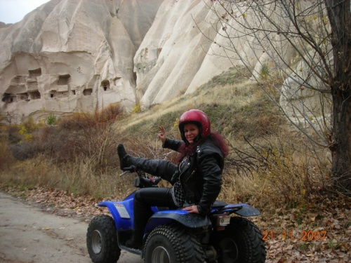На квадрацикле по Каппадокии-ощущение офигительное