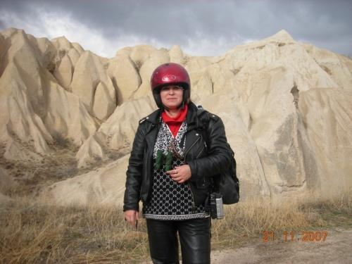 Каменные дюны Каппадокии