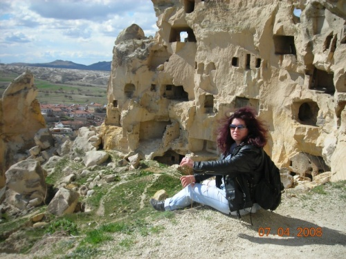 Скальная деревня Чавушин