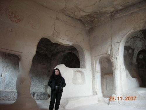 Скальный монастырь в Зельве
