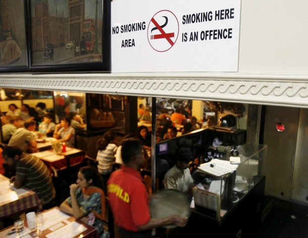 Banning Smoking In Public Places Essay
