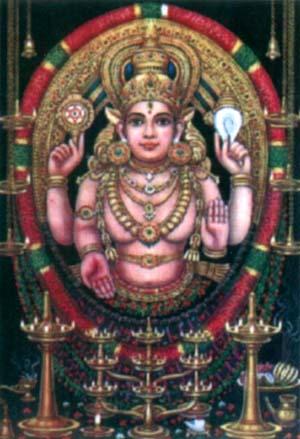 Дэви Бхагавати, южноиндийская богиня