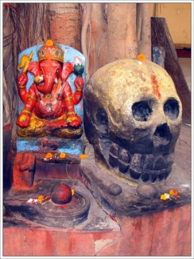 В ашраме Агхори, Варанаси