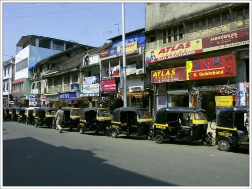Рикши в Пуне