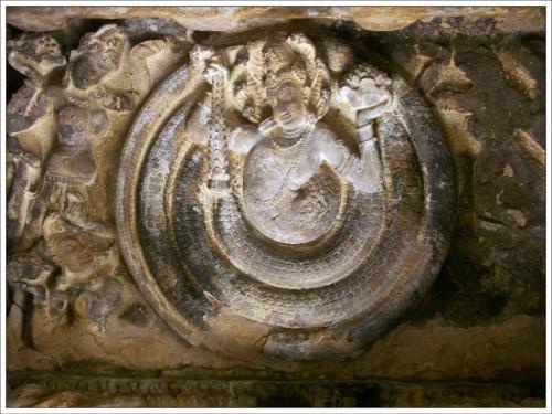 Айхоле. Шеша, потолок одного из храмов