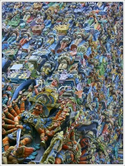 Индуисский пантеон. Мадурай. Храм Минакши.