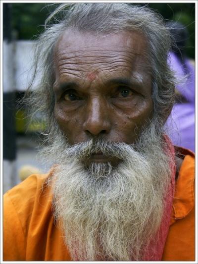 Садху. Тируваннамалаи
