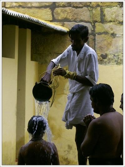 Омовение в священных реках. Храм Раманатхасвами