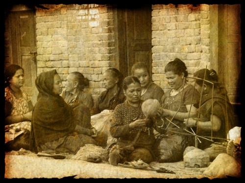 Женщины. Бхактапур