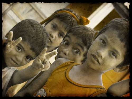Дети. Бхактапур