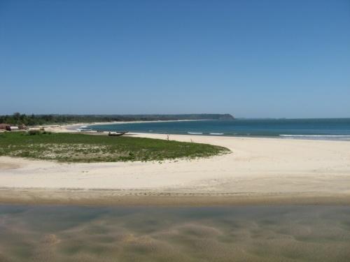Венгурла. Пляж.
