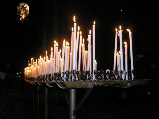 свечи для бога