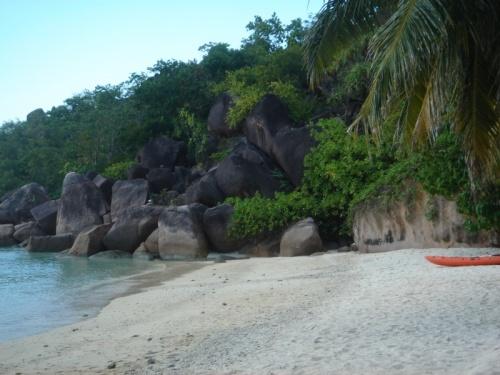 Пляж отеля La Reserve (Праслин)