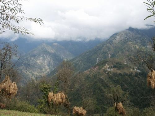 сено, горы