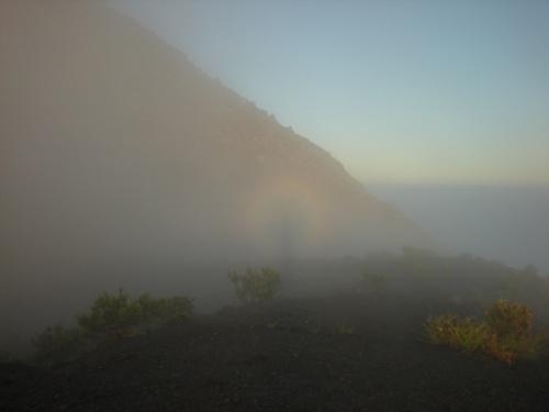 Явдение на вулкане Мерапи, остров Ява, Индонезия