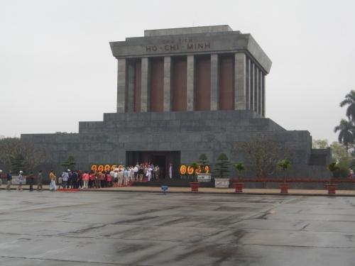 Мавзолей Хо Ши Мина, Ханой