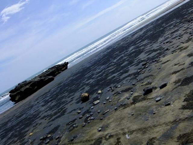 Вот он - черный песок!!!