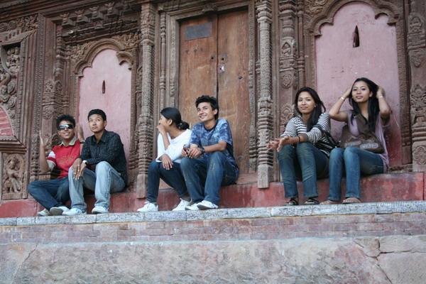 Катманду. Пары