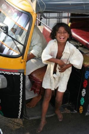 У знакомого рикши