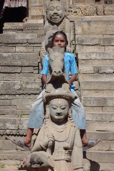 Девочка в Непале