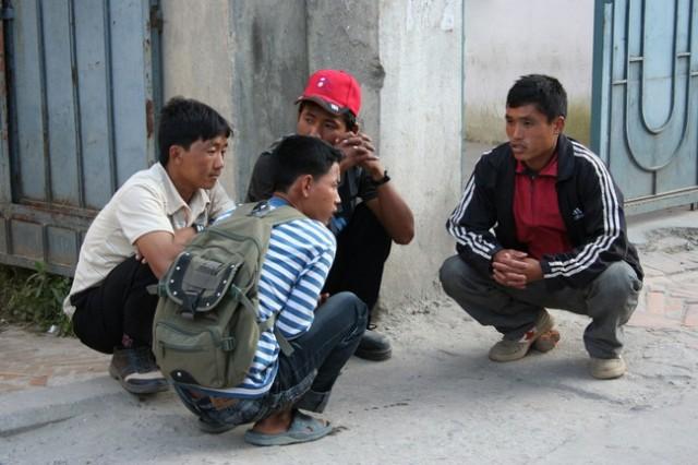 Непал. Тинейджеры